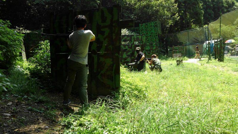 サバゲーフィールドGARDEN-Z 8月5日定例会