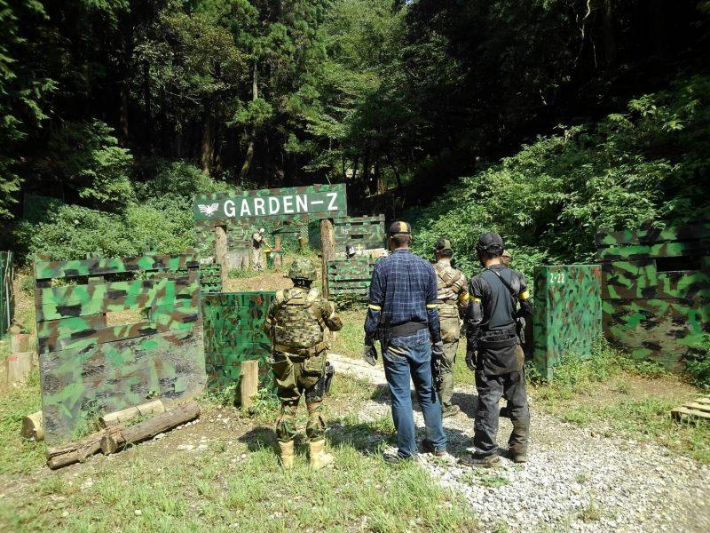 サバゲーフィールドGARDEN-Z 9月17日定例会