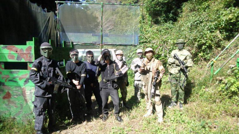 サバゲーフィールドGARDEN-Z 10月21日定例会