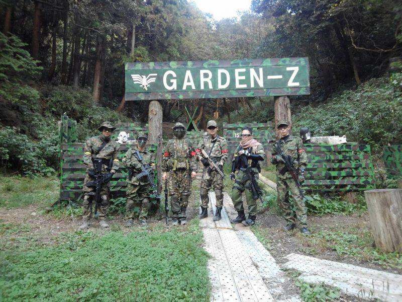 サバゲーフィールドGARDEN-Z 内田様貸切