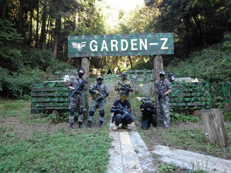サバゲーフィールドGARDEN-Z 10月6日定例会