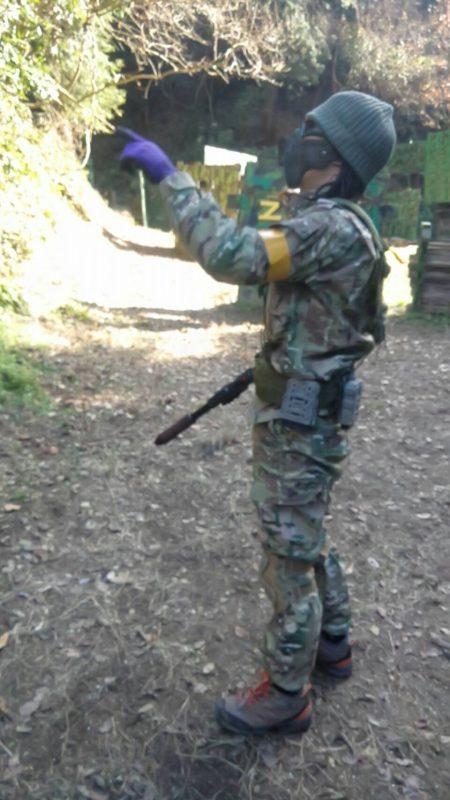 サバゲーフィールドGARDEN-Z 撃ち納めサバゲー