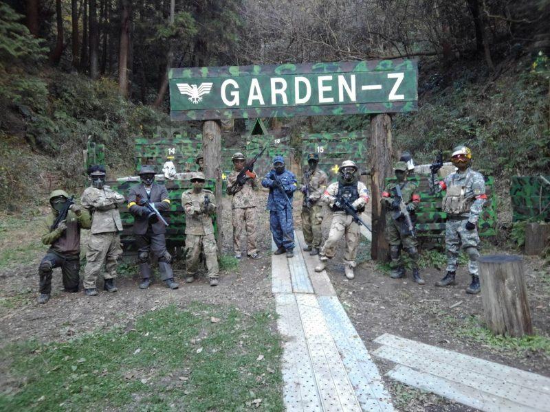 サバゲーフィールドGARDEN-Z 12月15日定例会