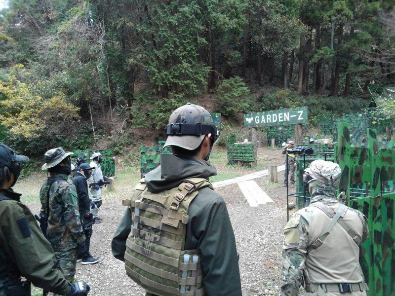 サバゲーフィールドGARDEN-Z 12月9日定例会