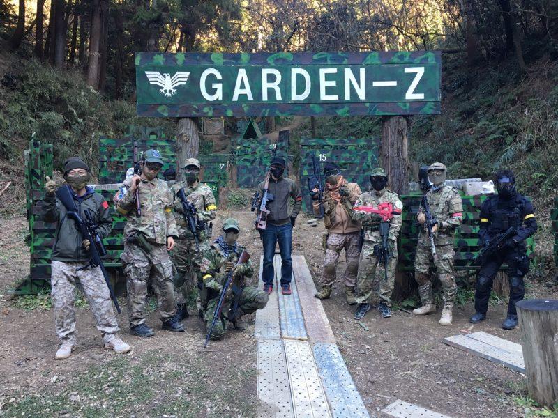 サバゲーフィールドGARDEN-Z 1月27日定例会