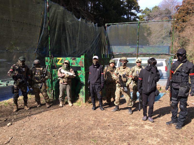 サバゲーフィールドGARDEN-Z 2月24日定例会
