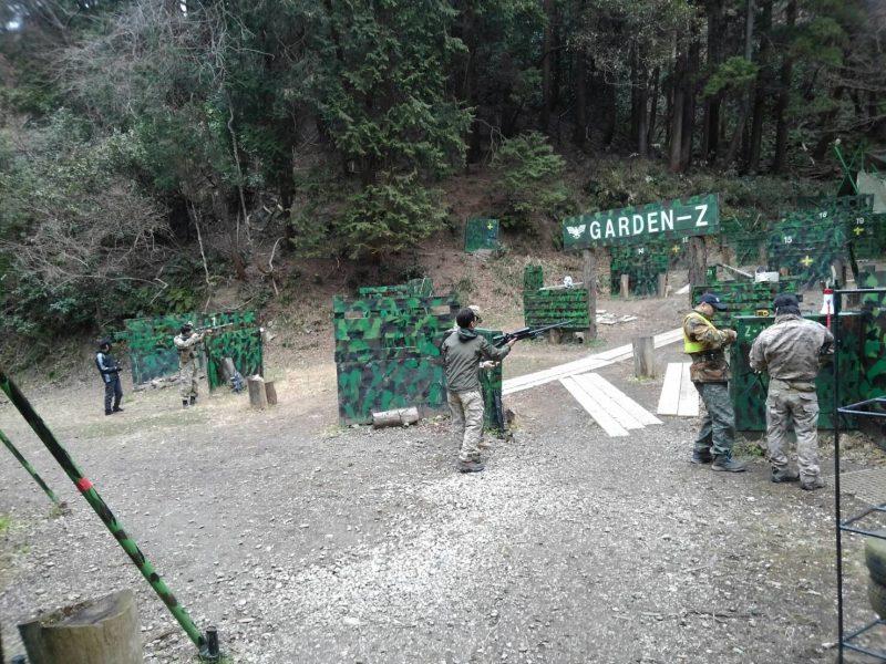 サバゲーフィールドGARDEN-Z 2月17日定例会