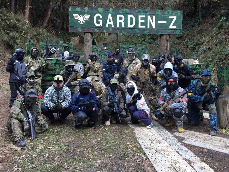 サバゲーフィールドGARDEN-Z 2月2日土屋様貸切