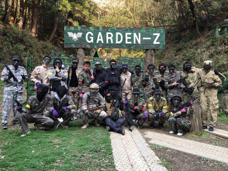 サバゲーフィールドGARDEN-Z 内藤様貸切