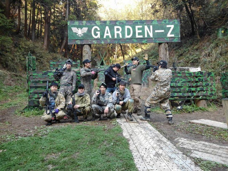 サバゲーフィールドGARDEN-Z 松本様貸切