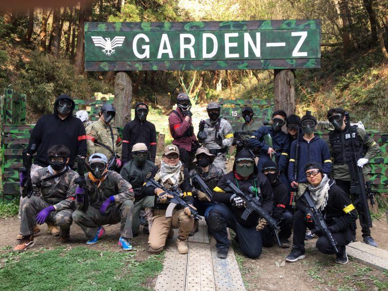サバゲーフィールドGARDEN-Z 3月30日定例会