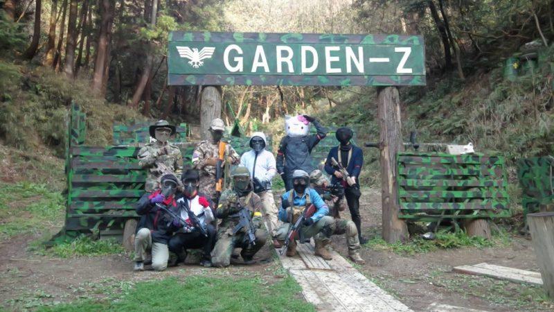 サバゲーフィールドGARDEN-Z 3月23日定例会