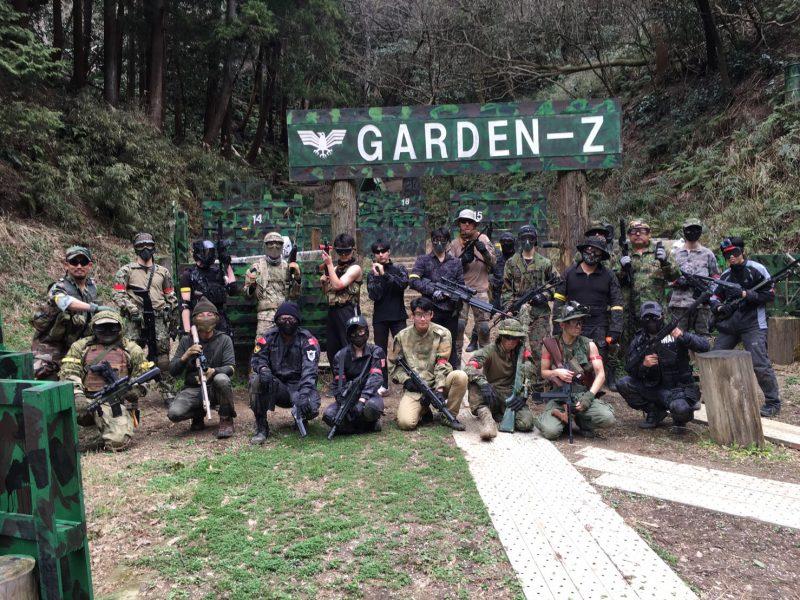 サバゲーフィールドGARDEN-Z 3月10日定例会