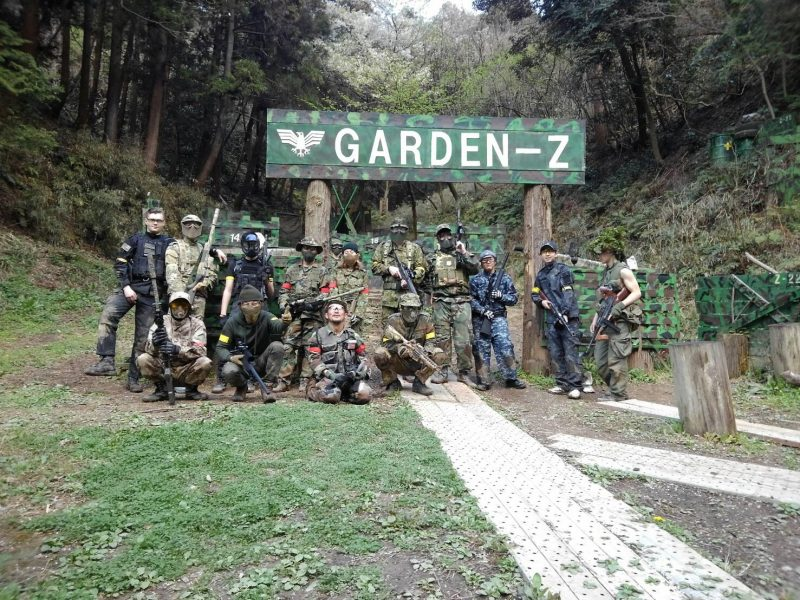 サバゲーフィールドGARDEN-Z 3月31日定例会