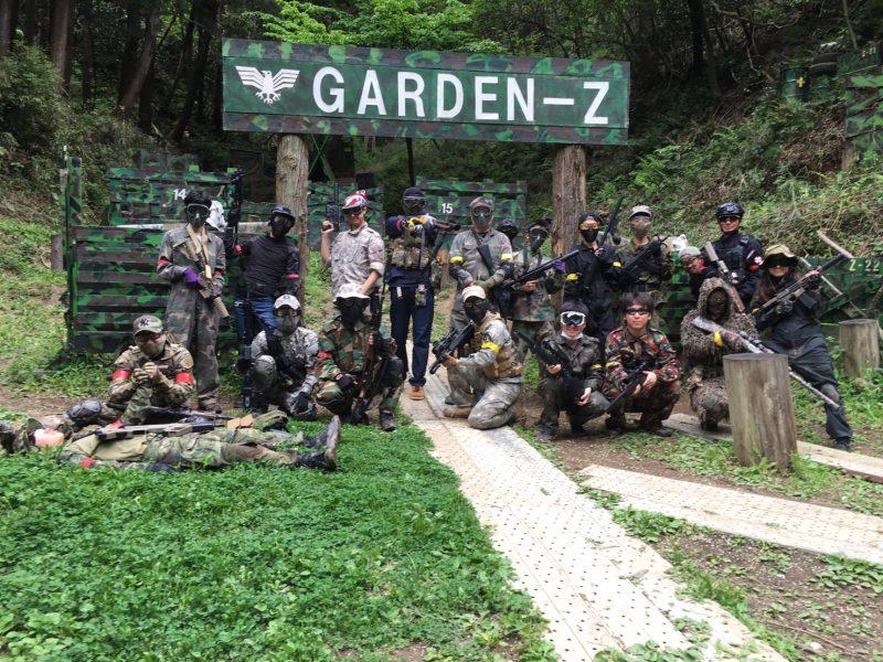 サバゲーフィールドGARDEN-Z 4月29日定例会