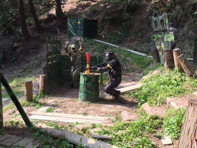 サバゲーフィールドGARDEN-Z 4月21日定例会