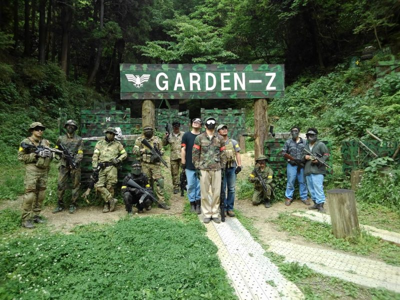 サバゲーフィールドGARDEN-Z 5月18日定例会