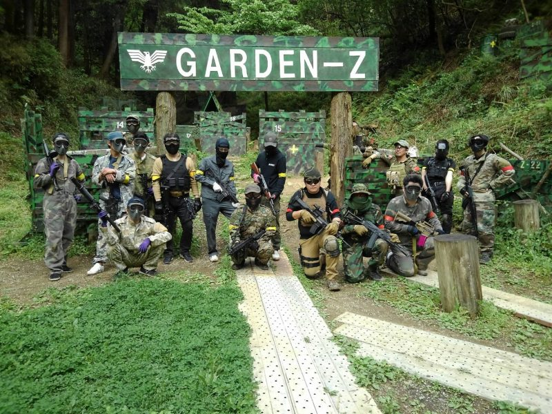 サバゲーフィールドGARDEN-Z 5月3日定例会