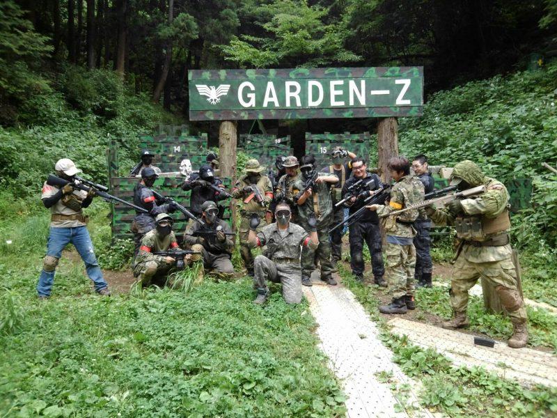 サバゲーフィールドGARDEN-Z 6月23日定例会