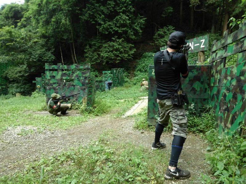 サバゲーフィールドGARDEN-Z 7月21日定例会