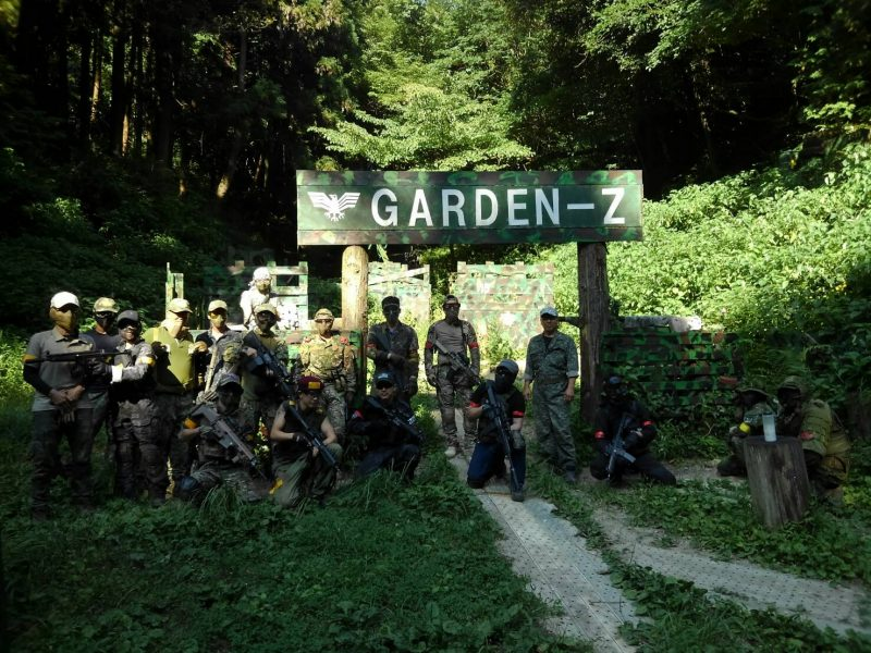 サバゲーフィールドGARDEN-Z 8月4日定例会