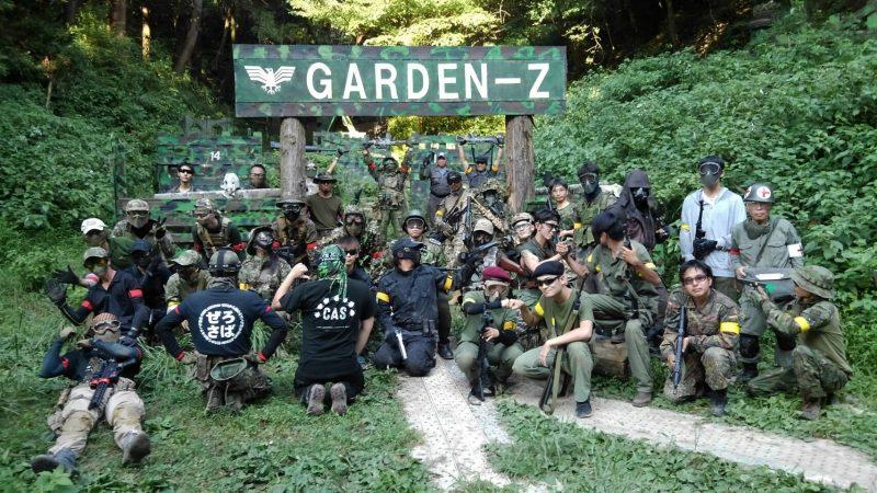 サバゲーフィールドGARDEN-Z 8月25日定例会