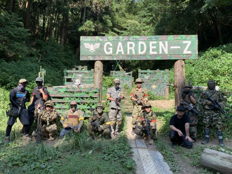 サバゲーフィールドGARDEN-Z 8月17日定例会