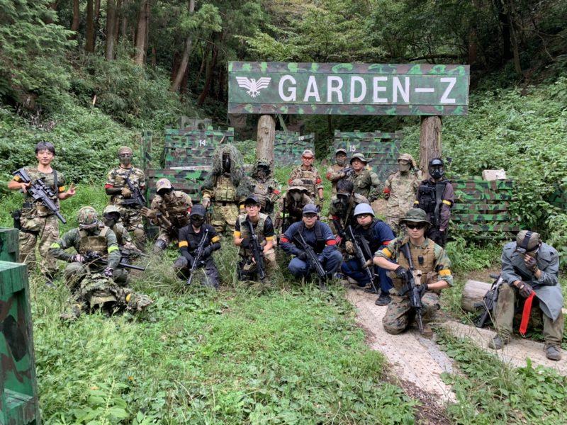 サバゲーフィールドGARDEN-Z 9月29日定例会
