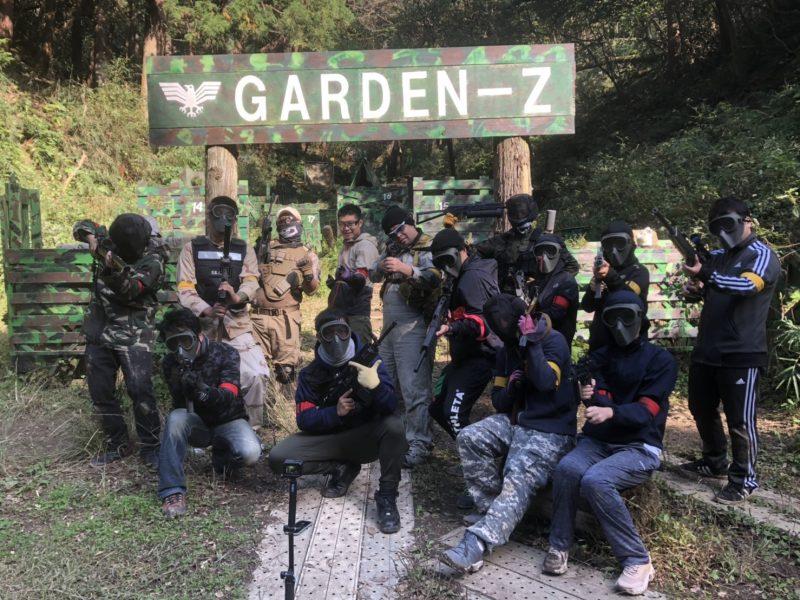サバゲーフィールドGARDEN-Z 種田様貸切
