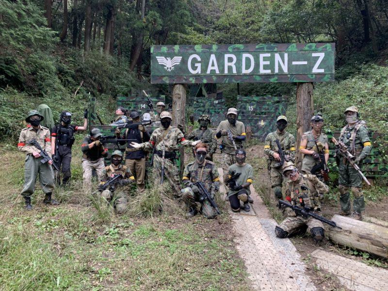 サバゲーフィールドGARDEN-Z 11月3日定例会