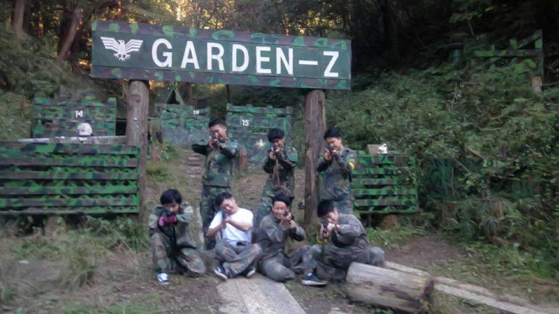サバゲーフィールドGARDEN-Z 飯島様貸切