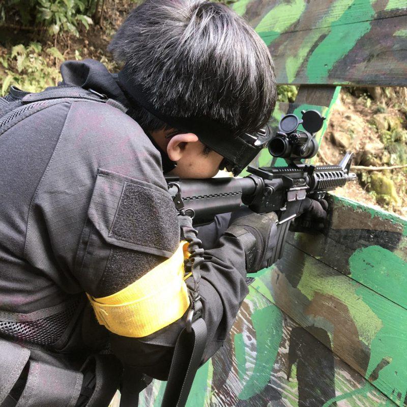 サバゲーフィールドGARDEN-Z 1月4日 撃ち始めサバゲー  NO.2
