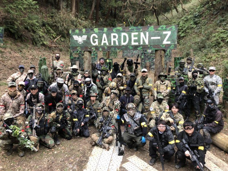 サバゲーフィールドGARDEN-Z 1月4日 撃ち始めサバゲー  No.1