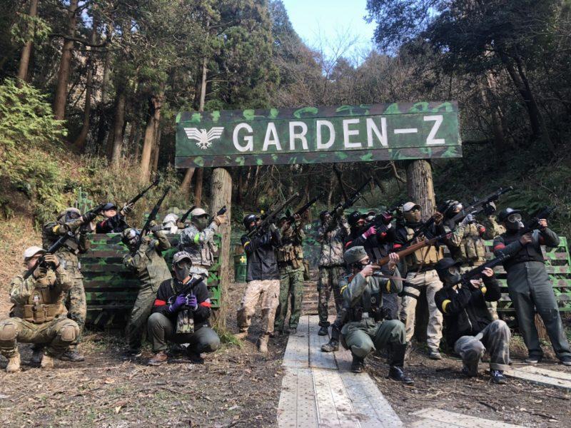 サバゲーフィールドGARDEN-Z 1月11日定例会