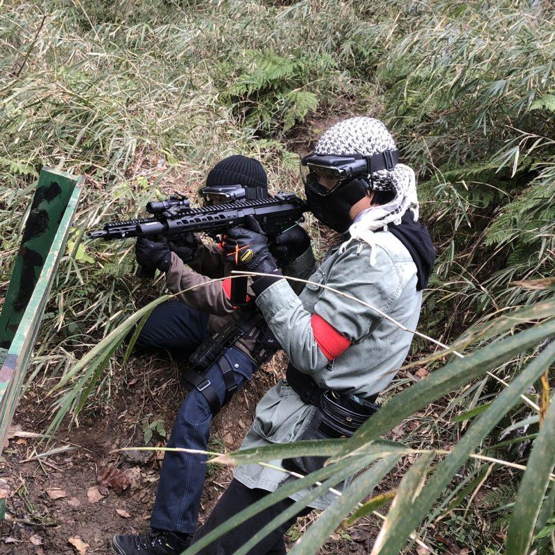 サバゲーフィールドGARDEN-Z 1月4日 撃ち始めサバゲー  NO.3