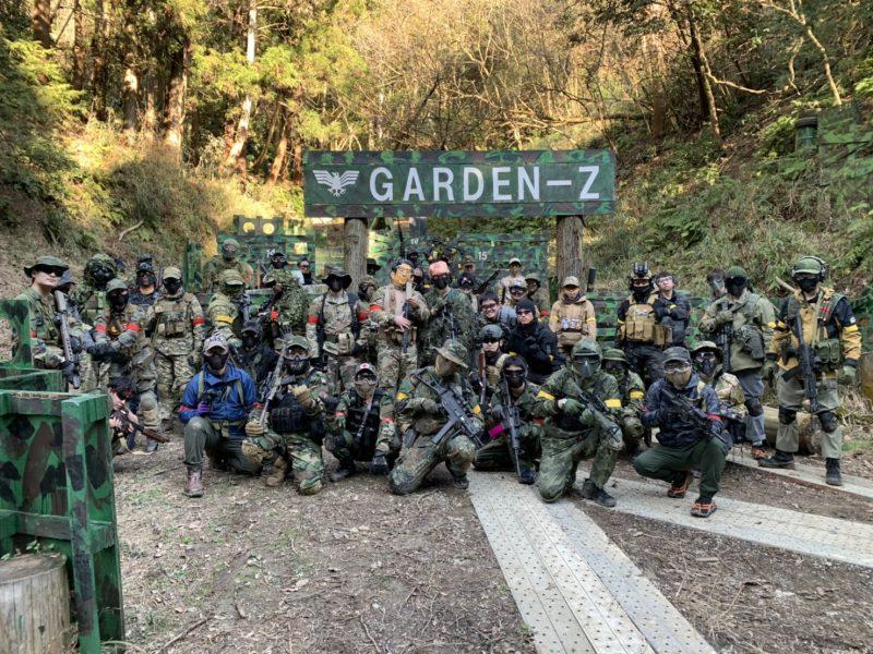 サバゲーフィールドGARDEN-Z 2月2日定例会NO.1
