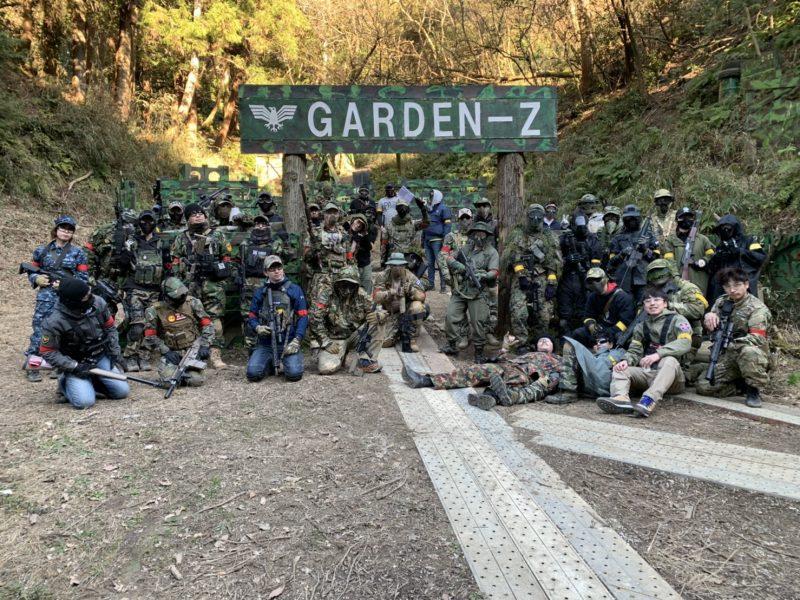 サバゲーフィールドGARDEN-Z 2月9日定例会NO.2