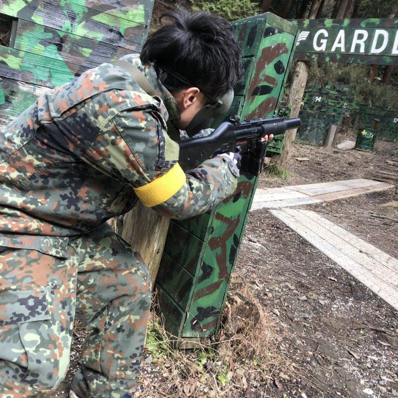 サバゲーフィールドGARDEN-Z 友國様貸切