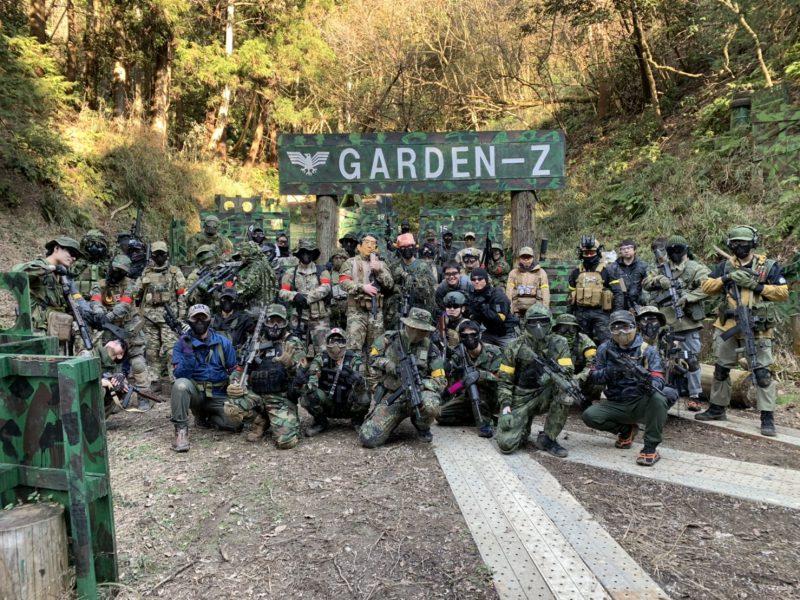 サバゲーフィールドGARDEN-Z 2月2日定例会NO.2