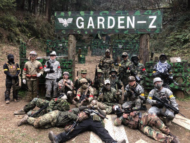 サバゲーフィールドGARDEN-Z 2月29日定例会
