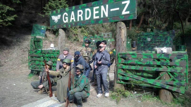 サバゲーフィールドGARDEN-Z 山中様貸切