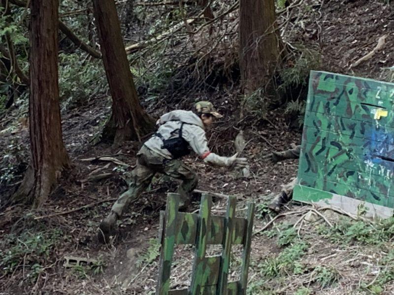 サバゲーフィールドGARDEN-Z 3月15日定例会No.3