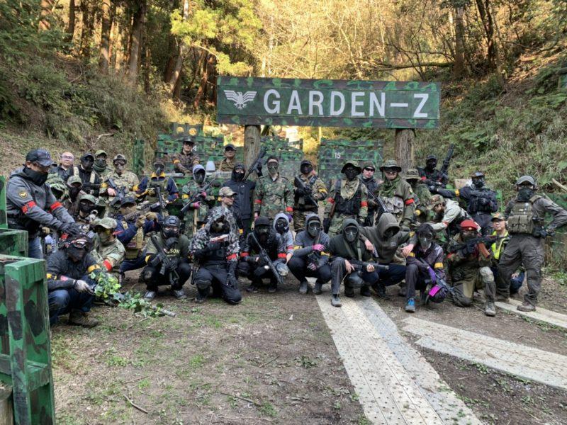 サバゲーフィールドGARDEN-Z 3月15日定例会No.1