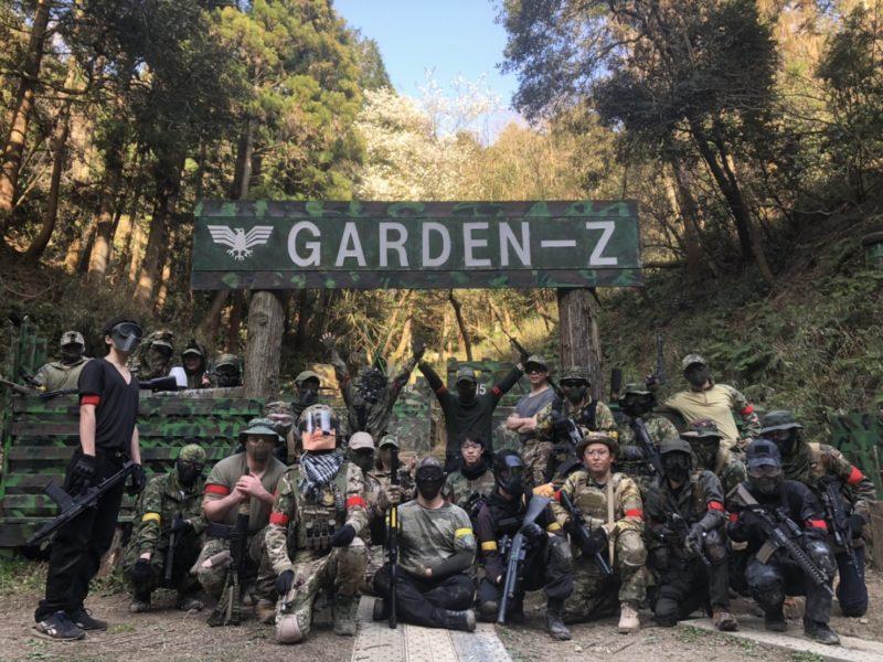 サバゲーフィールドGARDEN-Z 3月21日定例会
