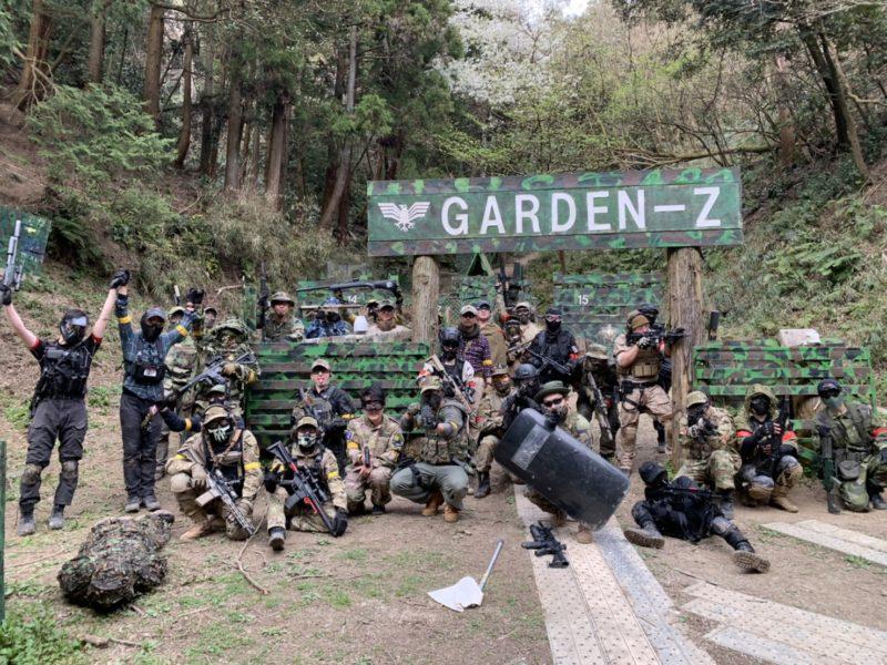 サバゲーフィールドGARDEN-Z 3月22日定例会NO.3