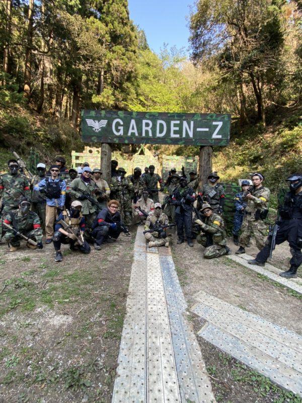 サバゲーフィールドGARDEN-Z 4月4日定例会No.1