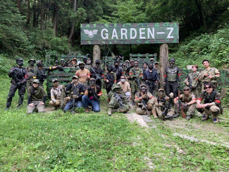 サバゲーフィールドGARDEN-Z 5月31日定例会NO.2