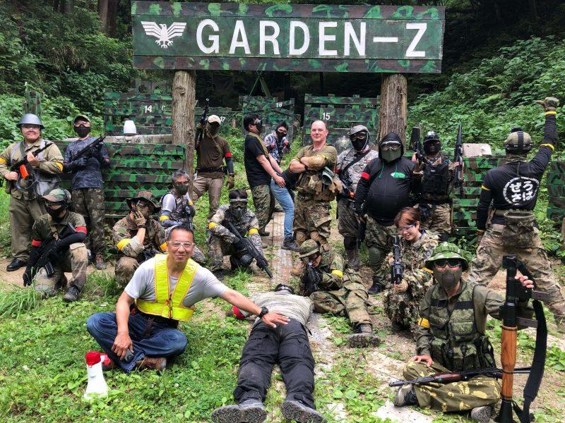 サバゲーフィールドGARDEN-Z 6月6日定例会NO.1