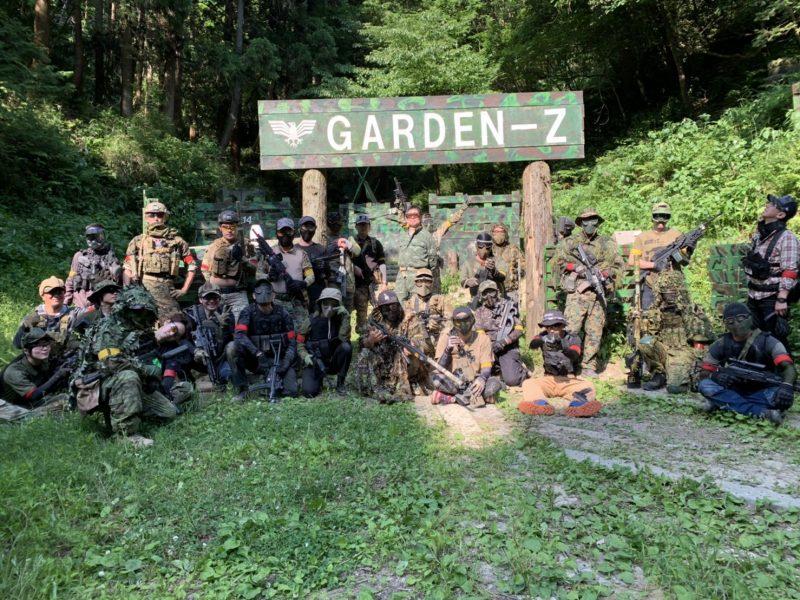 サバゲーフィールドGARDEN-Z 6月7日定例会NO.1