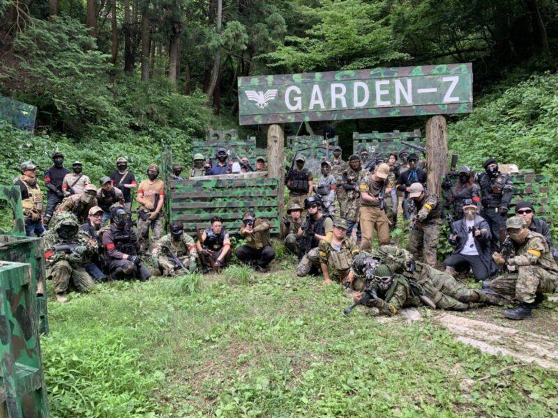 サバゲーフィールドGARDEN-Z 6月21日定例会NO.1